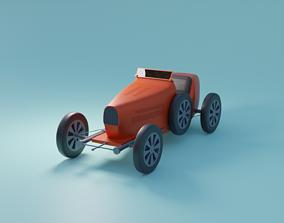 3D model realtime mini race car