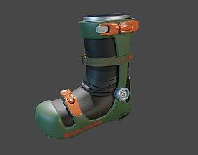 xEMU Boots 3D equipment