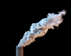 3D model Chimney Smoke VDB 20s sequence
