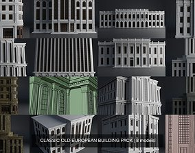 3D CLASSIC OLD EUROPEAN BUILDING PACK