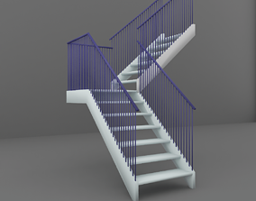 Stairs house 3D model
