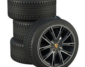 Porsche wheels 3D