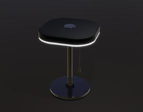 Luxury Desk Lamp Bedside lamp 3D model