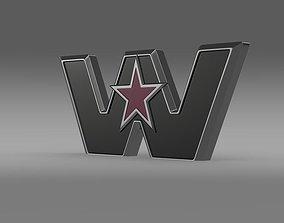 3D Western Star Logo