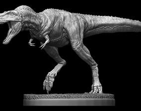 Daspletosaurus Rex statue with base 3D