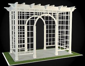 3D model Pergola arc