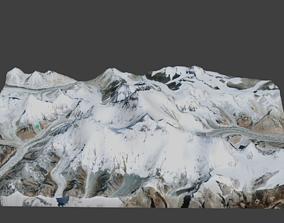 3D asset Lhotse Mountain