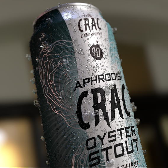 The Crac Brewery 16OZ Beer Can