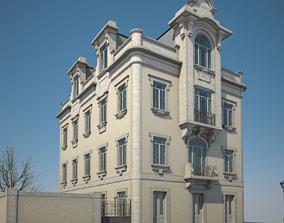 3D model Old House 02