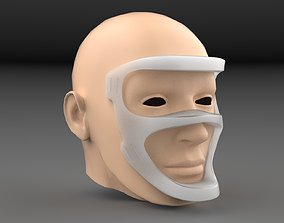 protection 3D printable model Face mask