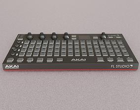Akai Professional Fire USB MIDI Controller 3D model