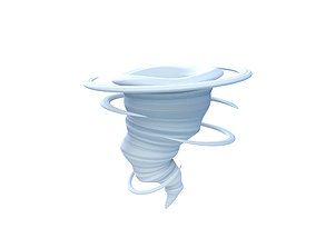Tornado 3D model