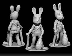 3D print model OLD EASTER BUNNY