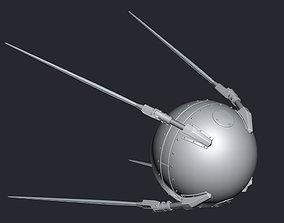Sputnik 3D model VR / AR ready