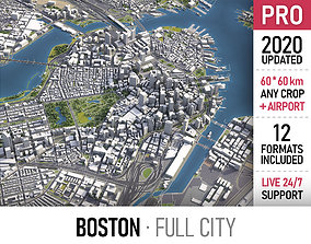 Boston 3D asset
