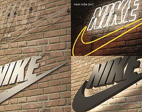 logo sign nike 3d VR / AR ready