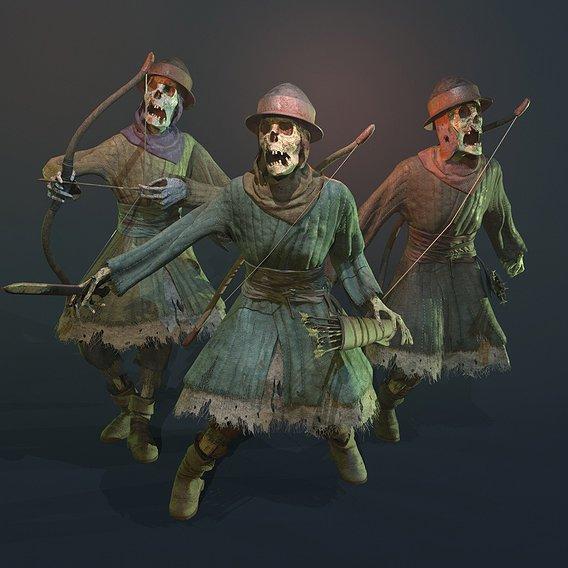 Medieval Skeleton Archer