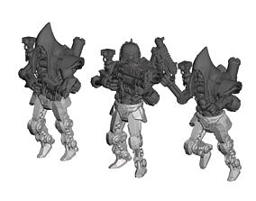 Dark Techno shooters and Vigilants - 3D printable model 4