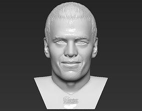 Tom Brady bust 3D printing ready stl obj