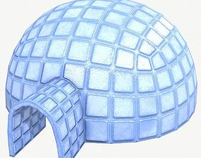 Igloo Low Poly 3D model