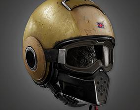 3D model Police SWAT Helmet BHE - PBR Game Ready
