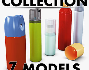 3D Spray Can Collection Volume 1