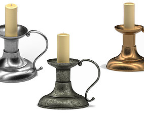 3D asset Candle Holder