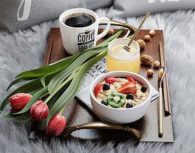 3D model Breakfast in bed