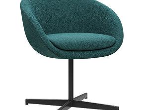 3D model Minotti Russell dining chair