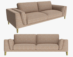 Sofa in sleeper style 3D model