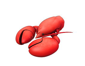 3D asset Lobster