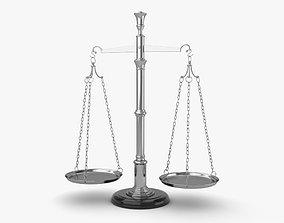 Balance Scale measure 3D model
