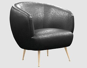 3D model SOUFFLE CHAIR unruched by Kelly Wearstler max fbx
