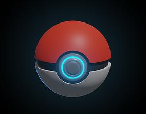 pokemon Pokeball 3D animated