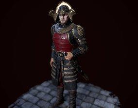 3D model Lannister officer
