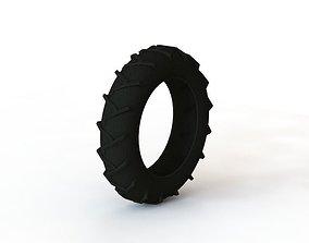 3D printable model wheel of truck