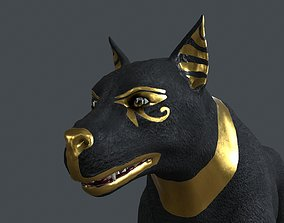 3D UVWD-024 Dog textures only
