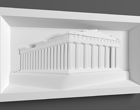 3D print model Parthenon for CNC Router and