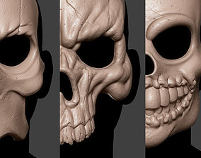 3D print model Skull Mask Collection 2