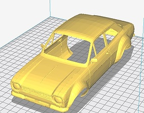 Escort MK1 Printable Body Car