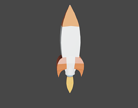 3D model Roket
