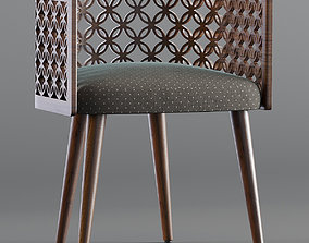 colection Arabesque Dining Chair 3D