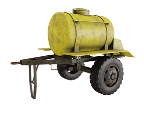 Trailer barrel 3D