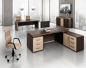 conference office interior 3D