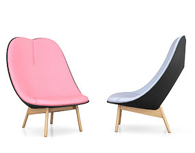 Uchiwa Lounge Chair by Doshi Levien for Hay 3D model