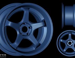 3D asset ROTA RT-5R wheel