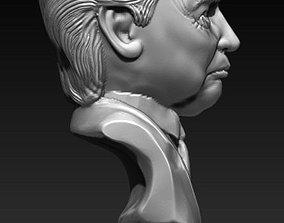 Trump bust 3D print model