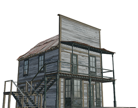 3D model Western House2