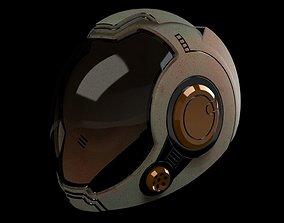 3D printable model Gipsy Danger Pilot Helmet