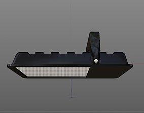 Truss Projection Lamp 3D asset